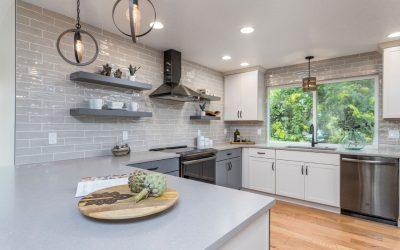 Creative Details Make the Difference in This Kitchen and Basement Remodel